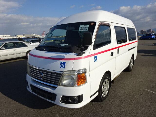 NISSAN Caravan Bus.